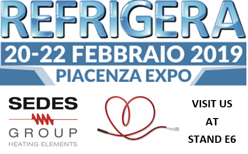 MEET SEDES GROUP AT REFRIGERA, 20-22 FEBRUARY IN PIACENZA
