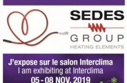 SEDES WILL BE PRESENT AT INTERCLIMA 2019